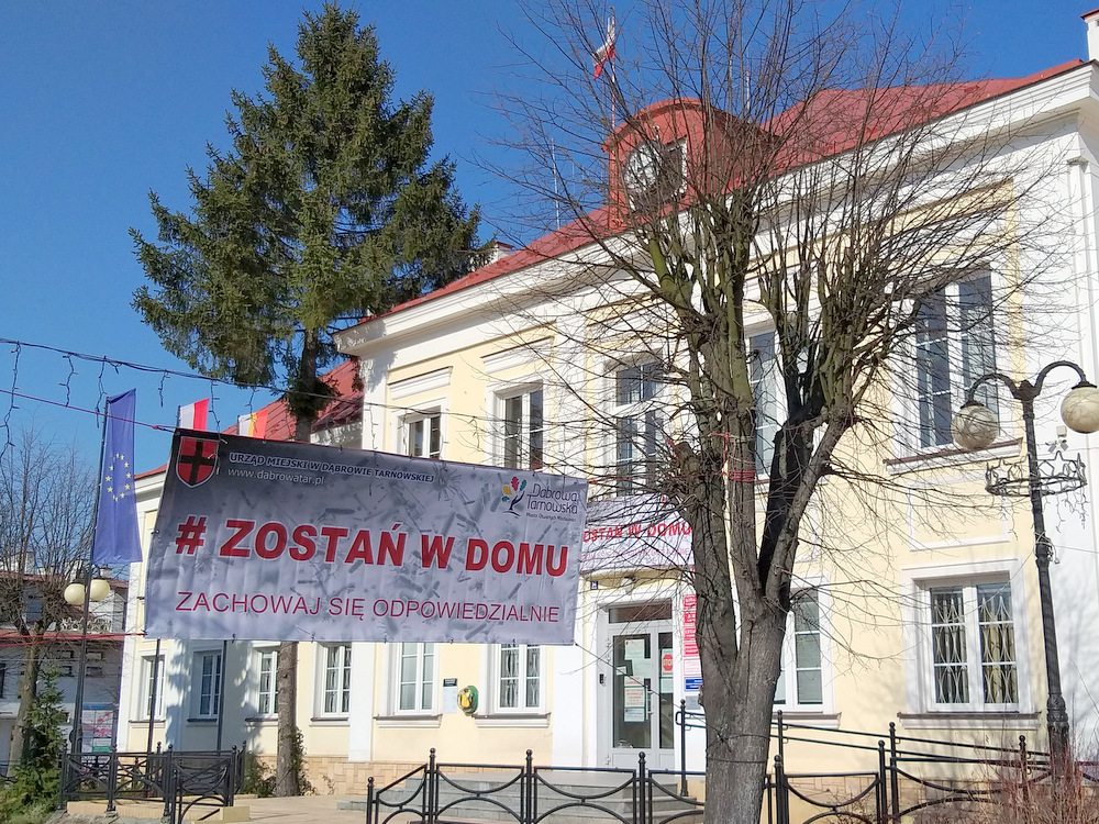 Narodowa kwarantanna Dąbrowa Tarnowska 2020 3 Podziękowania za działania wspierające walkę z COVID 19