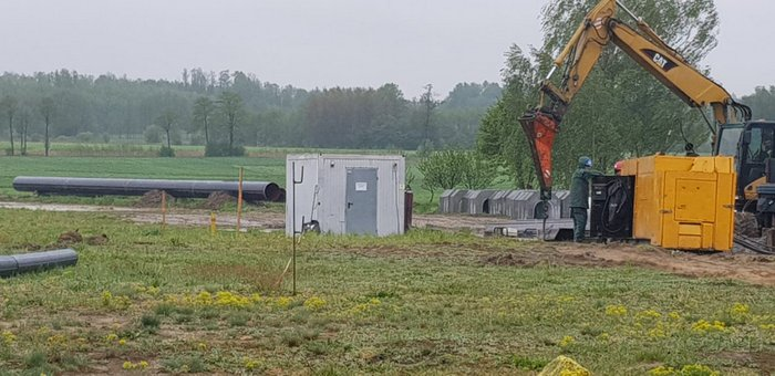 IMG 20200515 WA0013 Trwa budowa gazociągu relacji Podgórska Wola   Tworzeń