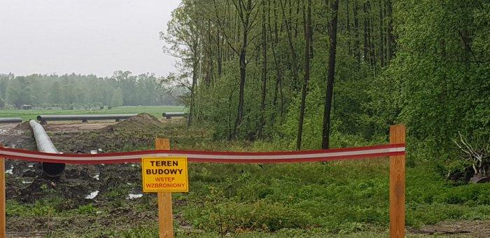IMG 20200515 WA0015 Trwa budowa gazociągu relacji Podgórska Wola   Tworzeń