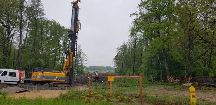 IMG 20200515 WA0016 Trwa budowa gazociągu relacji Podgórska Wola   Tworzeń