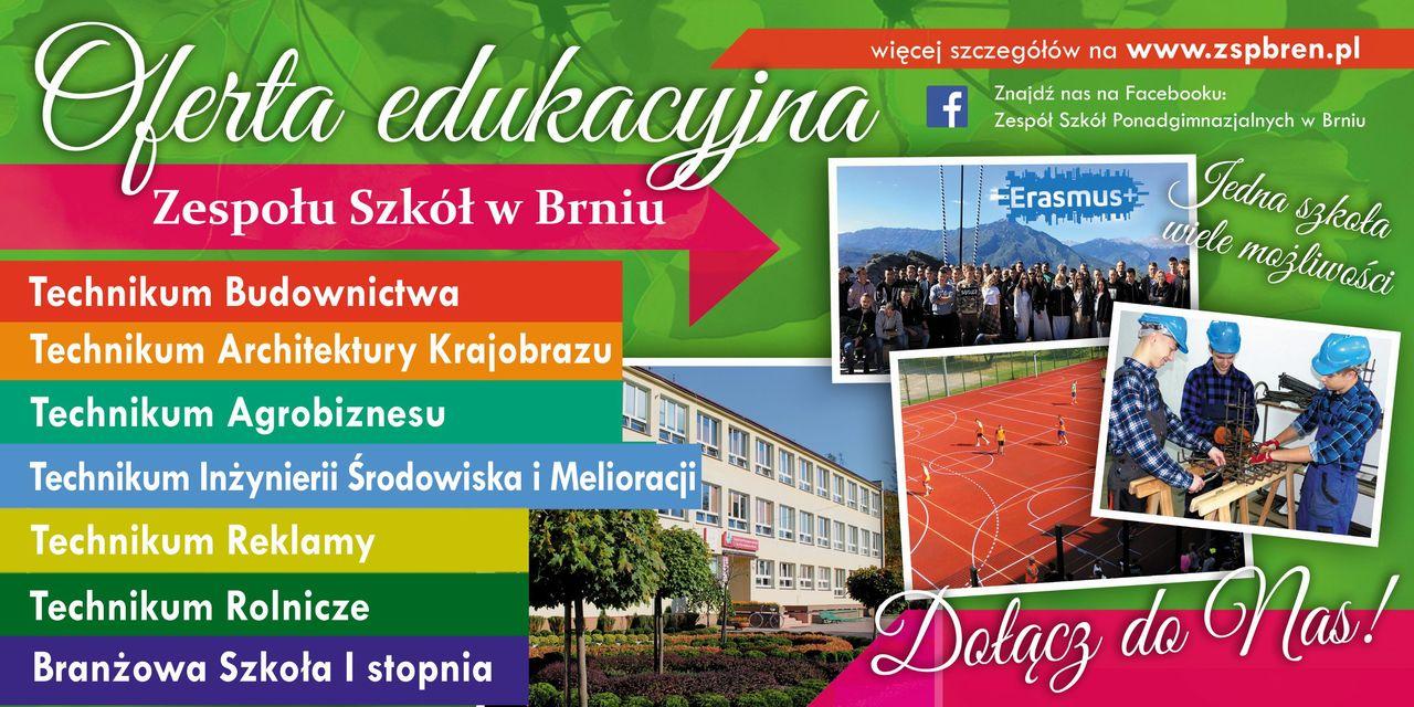 Oferta Breń Zapraszamy absolwentów szkół podstawowych do skorzystania z ofert szkół średnich na Powiślu Dąbrowskim