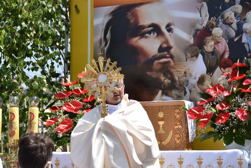 DSC 0181 Uroczystość Bożego Ciała – Najświętszego Ciała i Krwi Chrystusa