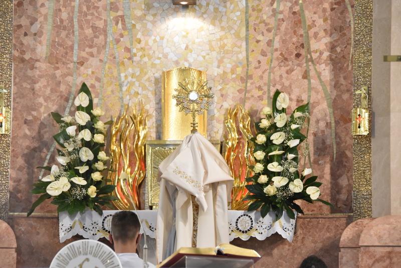 DSC 0199 Uroczystość Bożego Ciała – Najświętszego Ciała i Krwi Chrystusa