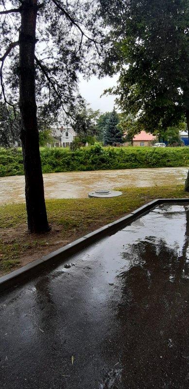 IMG 20200629 WA0008 Pogotowie przeciwpowodziowe na terenie gminy Dąbrowa Tarnowska