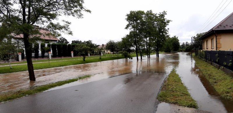 IMG 20200629 WA0011 Pogotowie przeciwpowodziowe na terenie gminy Dąbrowa Tarnowska