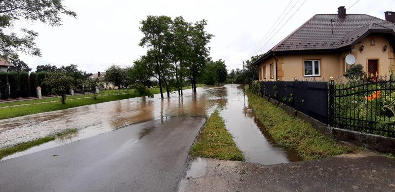 IMG 20200629 WA0012 Pogotowie przeciwpowodziowe na terenie gminy Dąbrowa Tarnowska