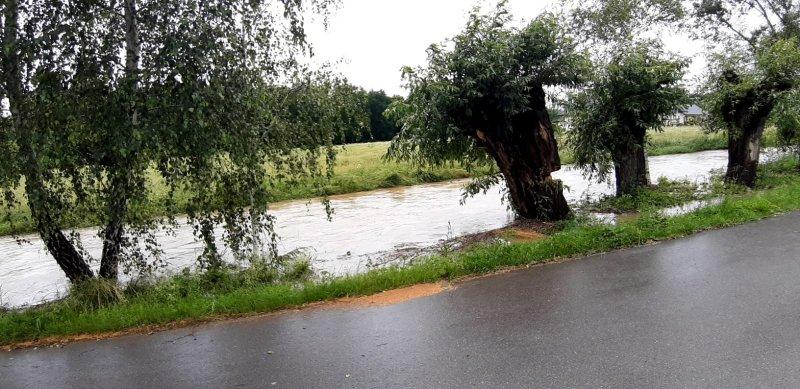 IMG 20200629 WA0013 Pogotowie przeciwpowodziowe na terenie gminy Dąbrowa Tarnowska