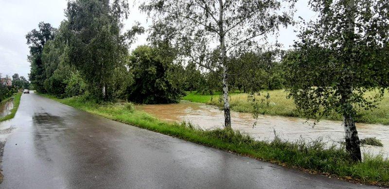 IMG 20200629 WA0017 Pogotowie przeciwpowodziowe na terenie gminy Dąbrowa Tarnowska