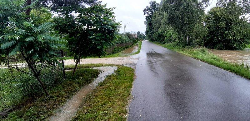 IMG 20200629 WA0018 Pogotowie przeciwpowodziowe na terenie gminy Dąbrowa Tarnowska