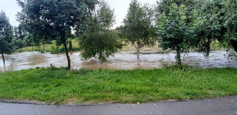 IMG 20200629 WA0019 Pogotowie przeciwpowodziowe na terenie gminy Dąbrowa Tarnowska