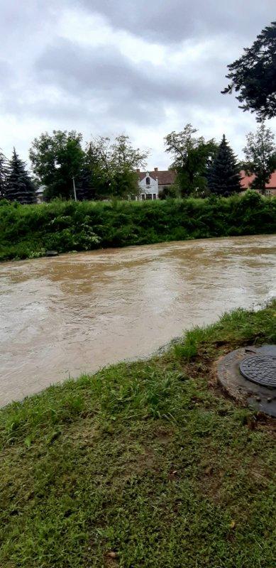 IMG 20200629 WA0022 Pogotowie przeciwpowodziowe na terenie gminy Dąbrowa Tarnowska