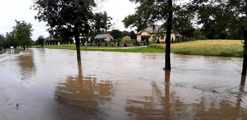 IMG 20200629 WA0025 Pogotowie przeciwpowodziowe na terenie gminy Dąbrowa Tarnowska