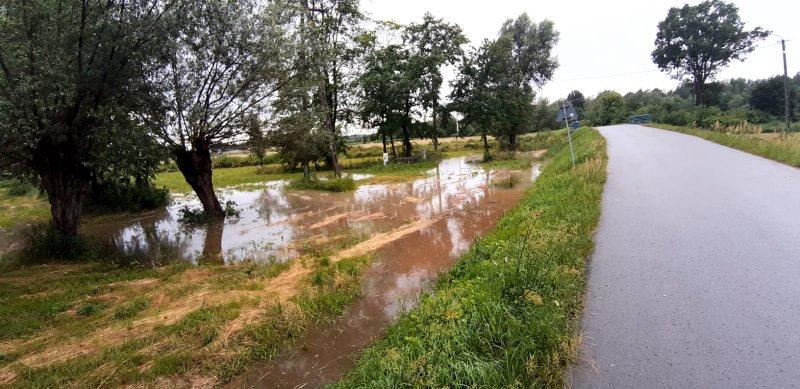 IMG 20200629 WA0027 Pogotowie przeciwpowodziowe na terenie gminy Dąbrowa Tarnowska