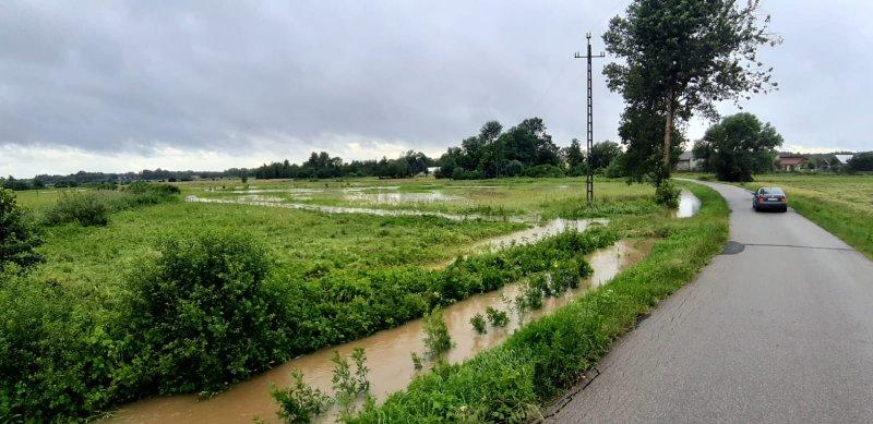 IMG 20200629 WA0028 Pogotowie przeciwpowodziowe na terenie gminy Dąbrowa Tarnowska