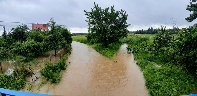 IMG 20200629 WA0029 Pogotowie przeciwpowodziowe na terenie gminy Dąbrowa Tarnowska