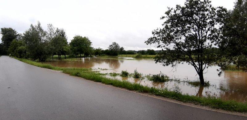 IMG 20200629 WA0037 Pogotowie przeciwpowodziowe na terenie gminy Dąbrowa Tarnowska