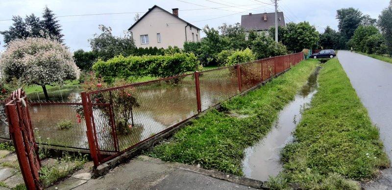 IMG 20200629 WA0038 Pogotowie przeciwpowodziowe na terenie gminy Dąbrowa Tarnowska