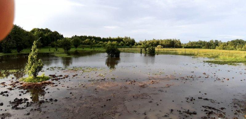 IMG 20200629 WA0042 Pogotowie przeciwpowodziowe na terenie gminy Dąbrowa Tarnowska