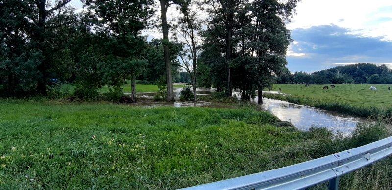 IMG 20200629 WA0043 Pogotowie przeciwpowodziowe na terenie gminy Dąbrowa Tarnowska