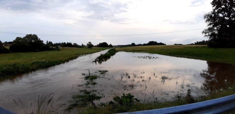 IMG 20200629 WA0044 Pogotowie przeciwpowodziowe na terenie gminy Dąbrowa Tarnowska