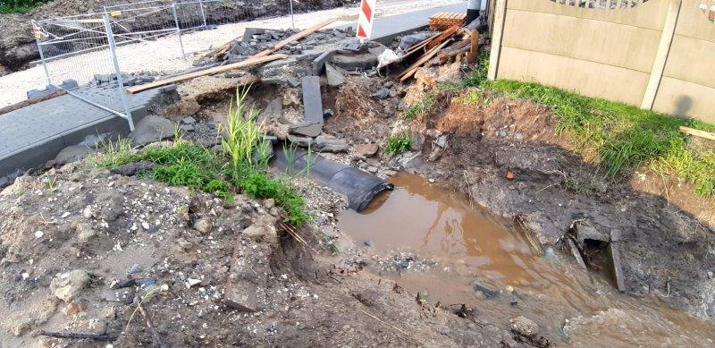 IMG 20200629 WA0050 Pogotowie przeciwpowodziowe na terenie gminy Dąbrowa Tarnowska