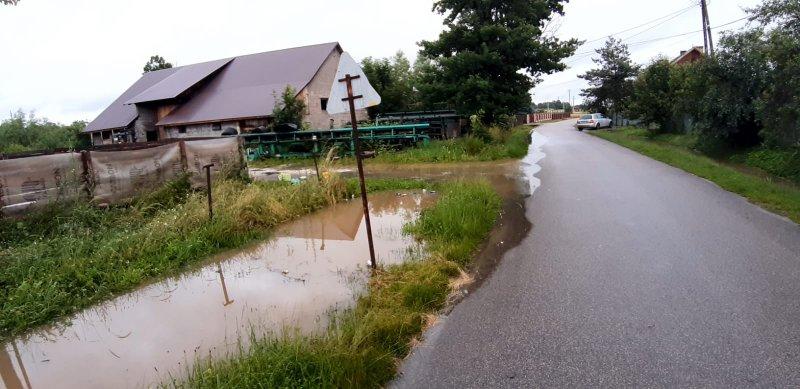 IMG 20200629 WA0057 Pogotowie przeciwpowodziowe na terenie gminy Dąbrowa Tarnowska