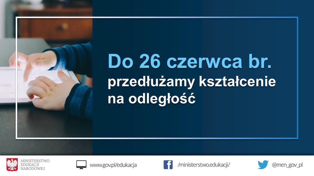 MEN 1 06 2020 Nauczanie na odległość do końca roku szkolnego