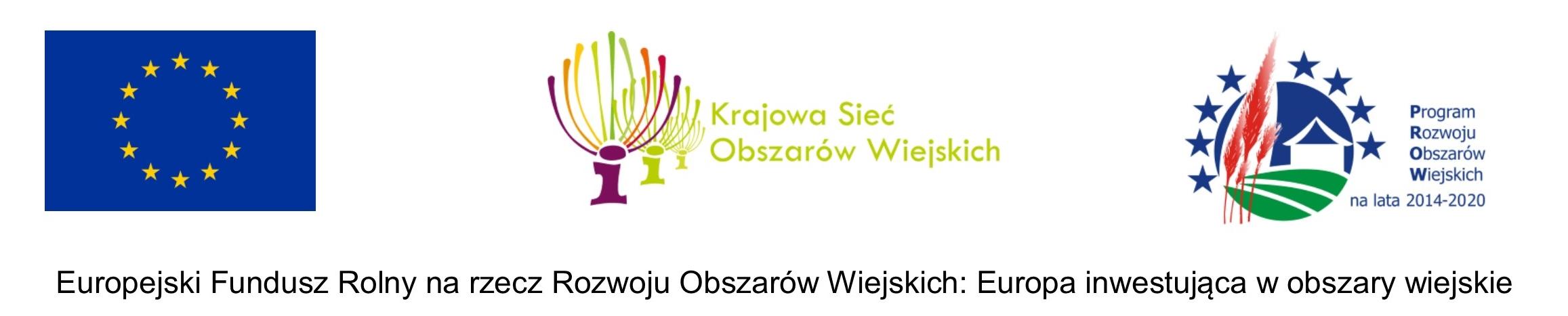 """logotypy obszary wiejskie Projekt KSOW pn.: """"Promocja dziedzictwa kulinarnego Powiatu Dąbrowskiego"""" w ramach Programu Rozwoju Obszarów Wiejskich"""