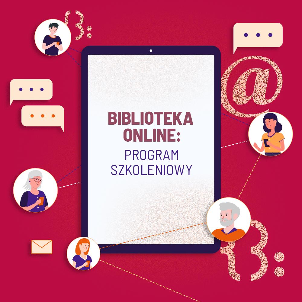 """Biblioteka online 02 kwadrat2 Biblioteka online z FRSI w ramach Programu """"Kultura w sieci"""""""