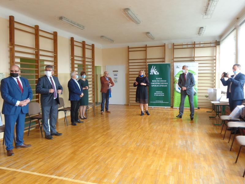 DSC04497 Finał etapu powiatowego X edycji Ogólnopolskiego Konkursu Plastycznego dla dzieci organizowanego przez Kasę Rolniczego Ubezpieczenia Społecznego