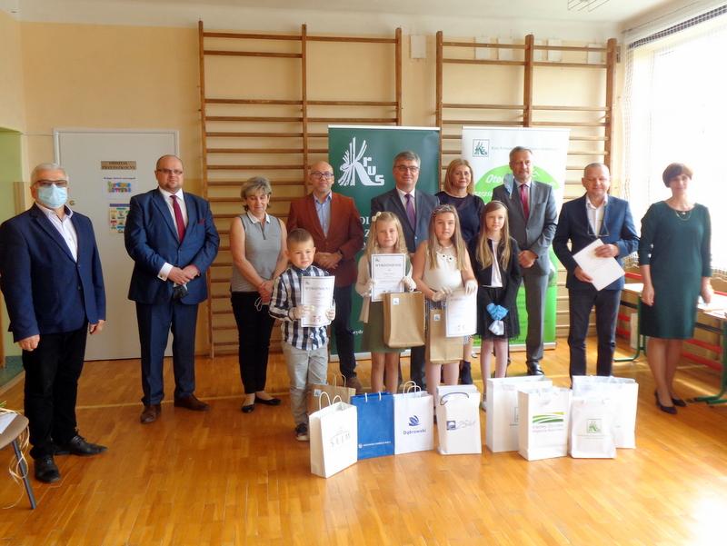 DSC04552 Finał etapu powiatowego X edycji Ogólnopolskiego Konkursu Plastycznego dla dzieci organizowanego przez Kasę Rolniczego Ubezpieczenia Społecznego