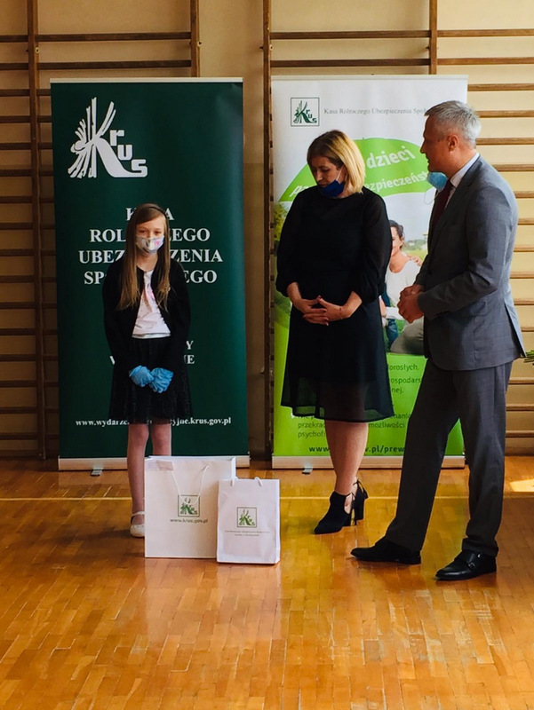 Konkurs KRUS LCh 2020 11 Finał etapu powiatowego X edycji Ogólnopolskiego Konkursu Plastycznego dla dzieci organizowanego przez Kasę Rolniczego Ubezpieczenia Społecznego
