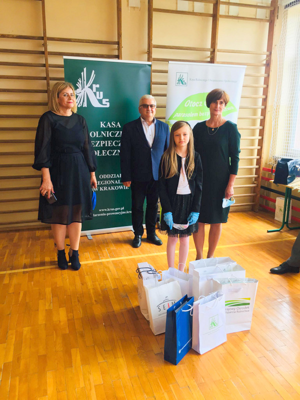Konkurs KRUS LCh 2020 13 Finał etapu powiatowego X edycji Ogólnopolskiego Konkursu Plastycznego dla dzieci organizowanego przez Kasę Rolniczego Ubezpieczenia Społecznego