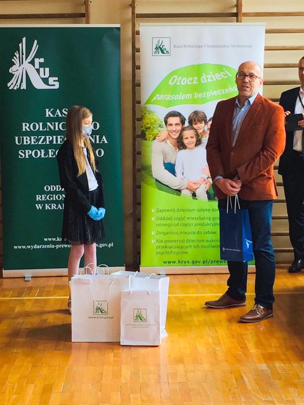 Konkurs KRUS LCh 2020 18 Finał etapu powiatowego X edycji Ogólnopolskiego Konkursu Plastycznego dla dzieci organizowanego przez Kasę Rolniczego Ubezpieczenia Społecznego