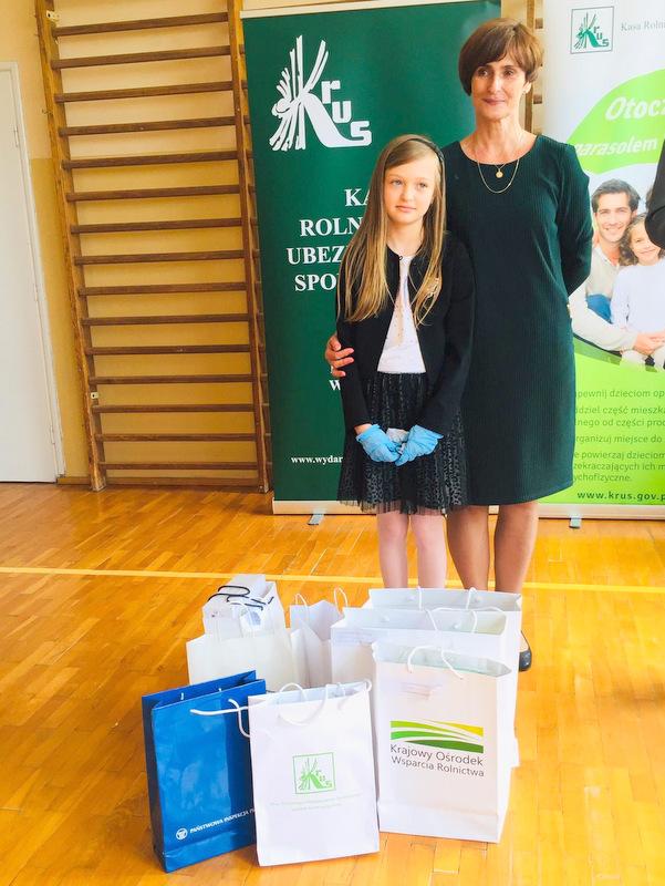 Konkurs KRUS LCh 2020 2 Finał etapu powiatowego X edycji Ogólnopolskiego Konkursu Plastycznego dla dzieci organizowanego przez Kasę Rolniczego Ubezpieczenia Społecznego