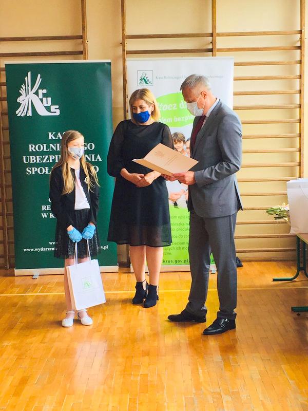 Konkurs KRUS LCh 2020 20 Finał etapu powiatowego X edycji Ogólnopolskiego Konkursu Plastycznego dla dzieci organizowanego przez Kasę Rolniczego Ubezpieczenia Społecznego