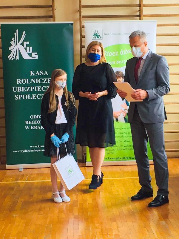 Konkurs KRUS LCh 2020 3 Finał etapu powiatowego X edycji Ogólnopolskiego Konkursu Plastycznego dla dzieci organizowanego przez Kasę Rolniczego Ubezpieczenia Społecznego