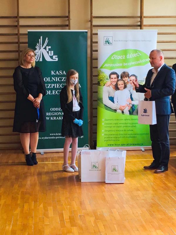 Konkurs KRUS LCh 2020 4 Finał etapu powiatowego X edycji Ogólnopolskiego Konkursu Plastycznego dla dzieci organizowanego przez Kasę Rolniczego Ubezpieczenia Społecznego