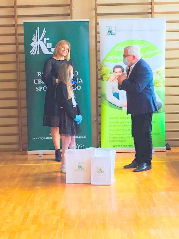 Konkurs KRUS LCh 2020 9 Finał etapu powiatowego X edycji Ogólnopolskiego Konkursu Plastycznego dla dzieci organizowanego przez Kasę Rolniczego Ubezpieczenia Społecznego