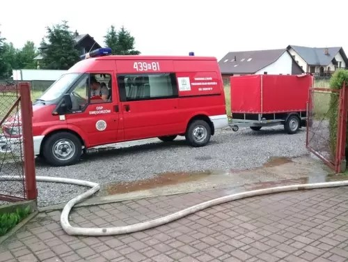 SMG4 Podziękowania dla strażaków za zaangażowanie w czasie pogotowia przeciwpowodziowego