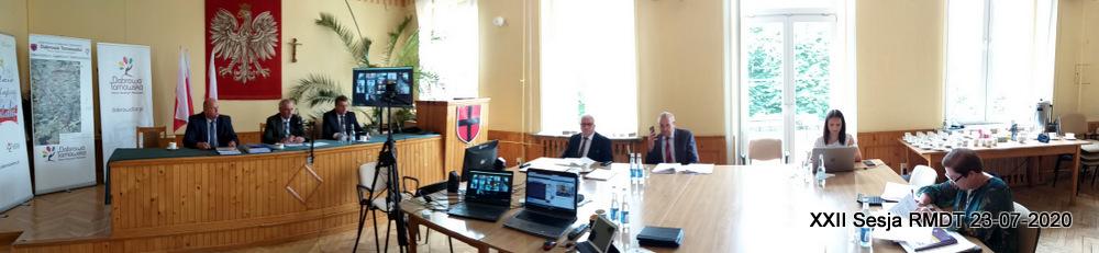 XXII Sesja RMDT 23 07 2020 7 XXII sesja Rady Miejskiej w Dąbrowie Tarnowskiej