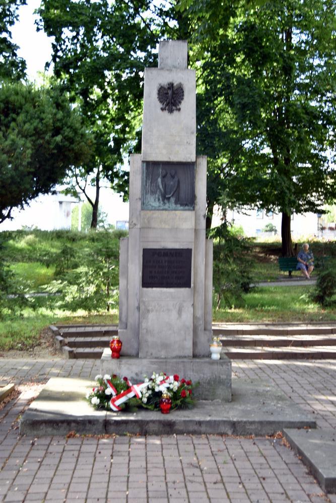 DąbrowaTarnowska 1 sierpnia 2020 76 Rocznica PW 13 Samorządowcy i dąbrowscy Strzelcy JS 2083 oddali hołd bohaterom Powstania Warszawskiego