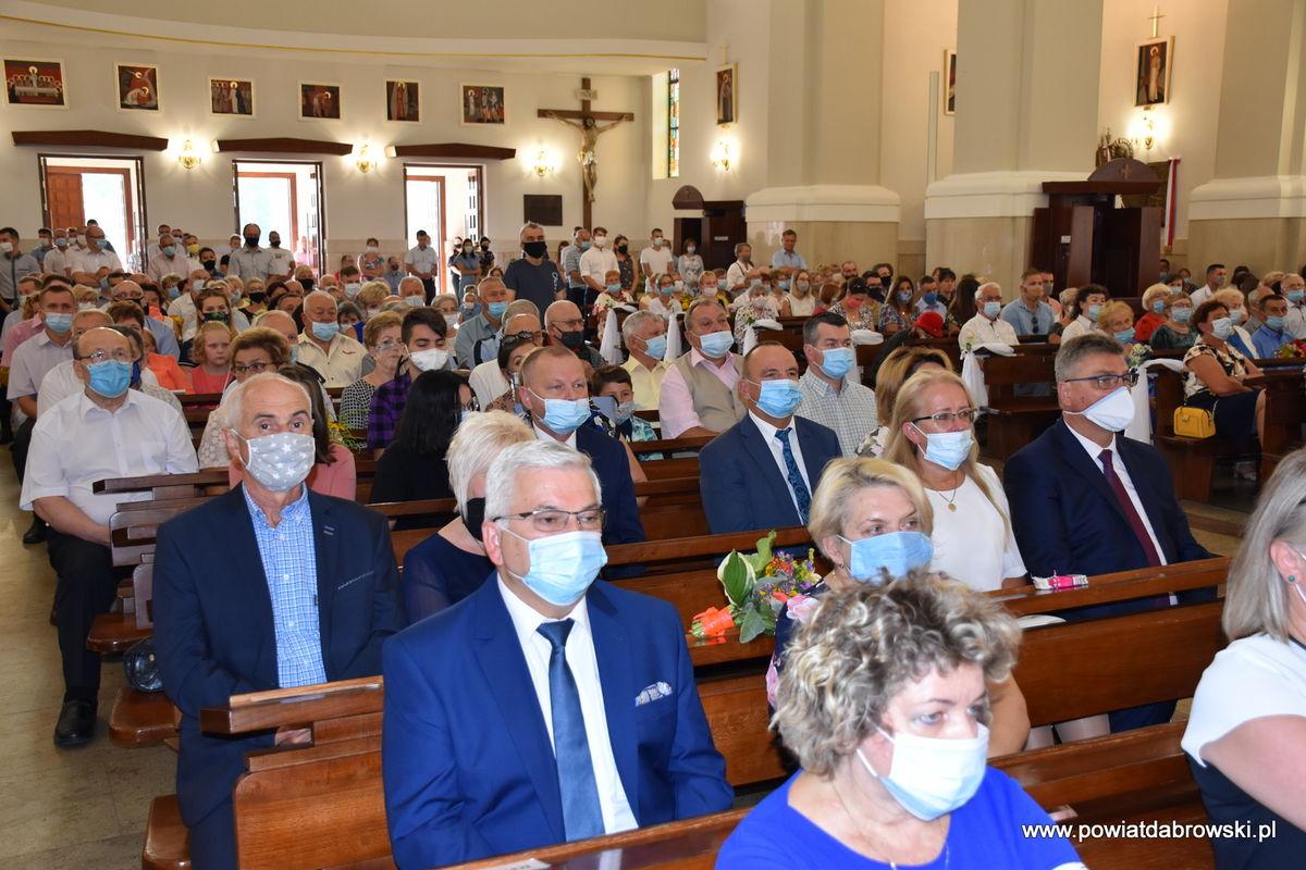 DSC 0017 62468a31 Dąbrowa Tarnowska uczciła 100. rocznicę Cudu nad Wisłą