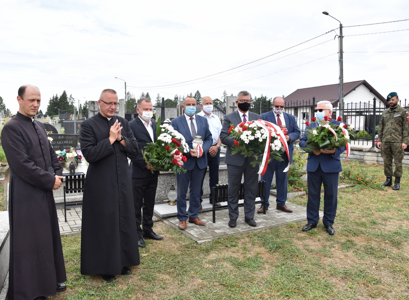 DSC 0375 Dąbrowa Tarnowska uczciła pamięć lotników Halifaxa