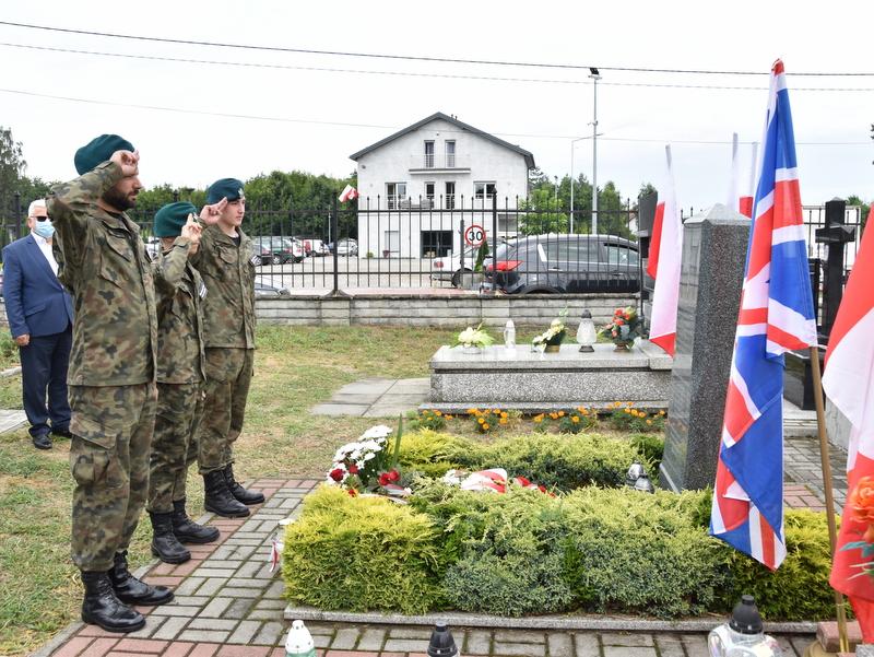 DSC 0403 Dąbrowa Tarnowska uczciła pamięć lotników Halifaxa