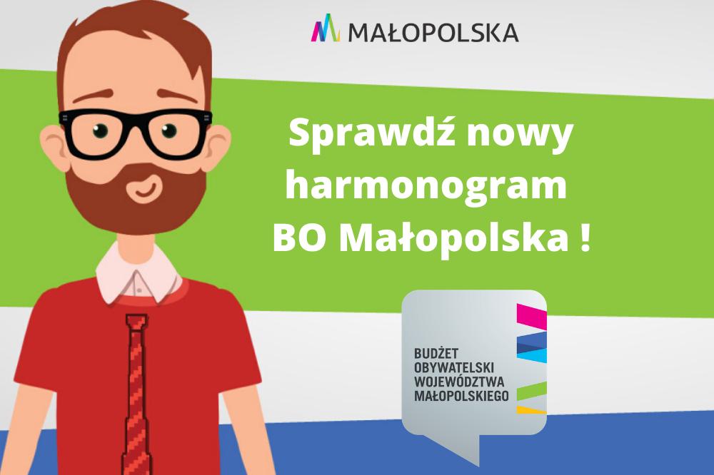 Składanie zadań od 4 maja do 5 czerwca V edycja Budżetu Obywatelskiego Województwa Małopolskiego