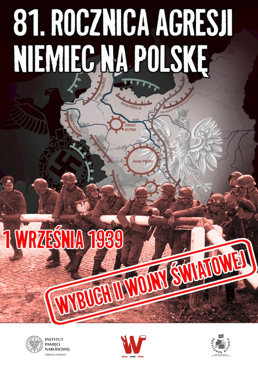81rocznica wybuchu IIWW 81. rocznica wybuchu II wojny światowej
