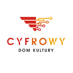 """CyfrowyDomKultury logo """"Cyfrowy Dom Kultury"""" w toku"""