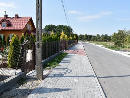 DSC 01841 <cent />Fundusz Dróg Samorządowych<br>w Gminie Dąbrowa Tarnowska</center>