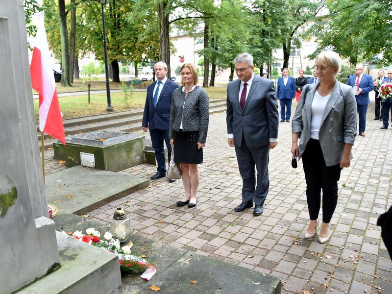 DSC 0494 Dąbrowa Tarnowska uczciła 81. rocznicę wybuchu II wojny światowej
